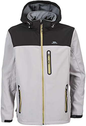 Trespass Herren Hebron Softshell Jacke cool grey