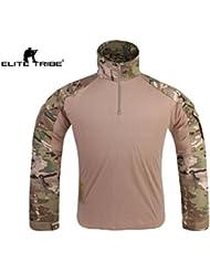 Homme chemise de combat Militaire Gen3 chemise tactique Multicam MC