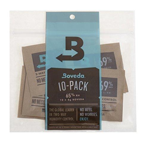 Tools Supply Boveda 65% RH 2 voies contrôle de l'humidité, 8 gram – Lot de 10 couleur : 65% RH Level, modèle : B65–08–10P, outils & Hardware Store