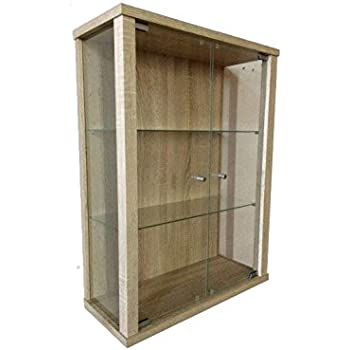 h ngevitrine sammlervitrine vitrine h ngeschrank sonoma. Black Bedroom Furniture Sets. Home Design Ideas