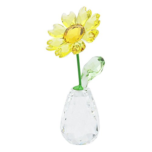 Swarovski fiore dreams-sunflower, cristallo, multicolore, 7.1x 3.2x 3.4cm