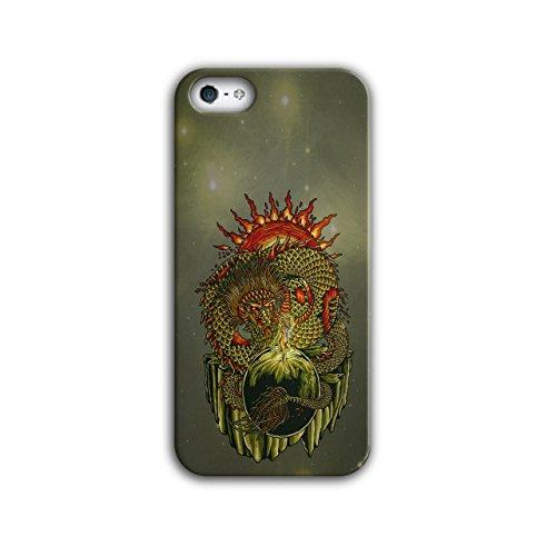Wellcoda Chinesisch Drachen iPhone 5/5S Hülle (Kostenlose Drachen Bilder Chinesische)