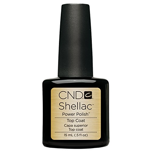 CND, Smalto Top Coat Shellac, 15 ml