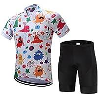 Pantalones de ciclismo Pantalones de montar en bic Deportes de los hombres al aire libre montaña transpirable secado rápido ciclismo Top + pantalones cortos traje M ( Color : Shorts , tamaño : XL )