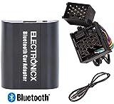 Electronicx BTA-BM1 Digitaler Musik-Adapter AUX Bluetooth Freisprecheinrichtung Rundpin CD-Wechsler passend für BMW, Mini Rover