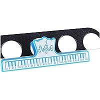 DOOUYTERT doou ytert 1Pieza página Música Libro Clips Música Soporte Piano Libro Clamp (Azul)