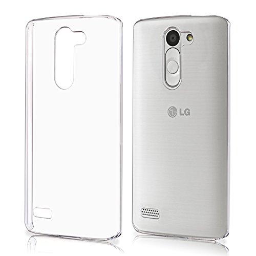 kwmobile Funda para LG L Bello - Case plástico para móvil - Cover trasero en transparente