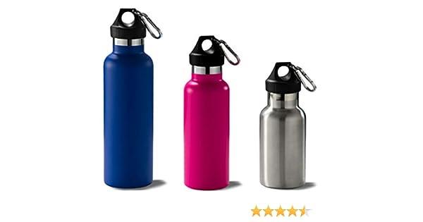 ILSA Bottiglia Termica in Acciaio Inox 18//10 Colorata 35//50 cl Doppia Parete Custodia Bottiglia Termica