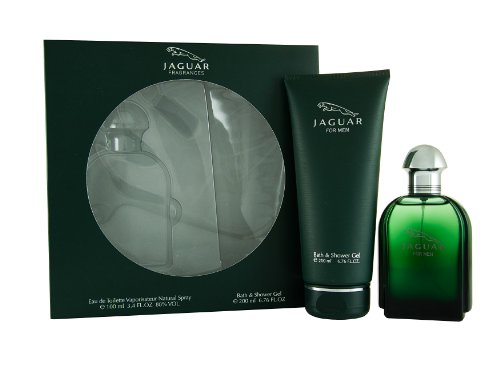 Jaguar For Men Bath Set (100ml Eau de Toilette & 200ml Duschgel), 1 Set -