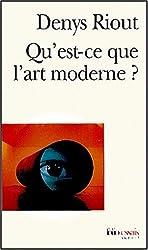 Qu'est-ce que l'art moderne ?
