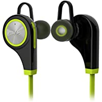 V4.1 Bluetooth sweatproof Sport auricolare stereo hifi, Koiiko® Q9 CSR 2 in 1 Mini