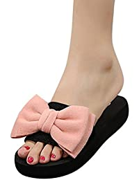Sandali con Tacco Alto Laccati da Donna con Papillon E Scarpe Estive, UOMOGO? Scarpe Donna Tacco Alto Sexy a Spillo Eleganti 11cm 2018 Estate (CN:40, Blu)