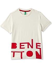 United Colors of Benetton Baby Boys' Regular Fit Plain T-Shirt