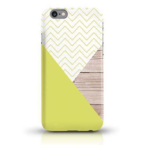 """JUNIWORDS Handyhüllen Slim Case für iPhone 6 / 6s - Motiv wählbar - """"Anker Design 1 Dunkelblau"""" - Handyhülle, Handycase, Handyschale, Schutzhülle für Ihr Smartphone Chevron Muster"""