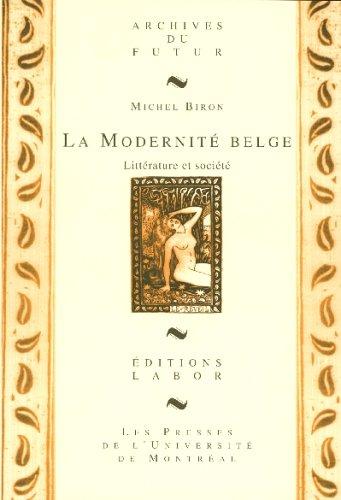 La modernité belge