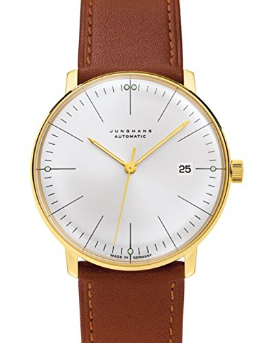 JUNGHANS - Watches - Men - Max Bill 38mm Automatic White and Gold for men - TU