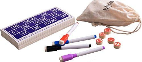 Jaques-of-London-Bingo-Spiele-Set-Bingo-Karten-mit-Bingo-Balls-Counters-komplett-mit-Draw-Bag