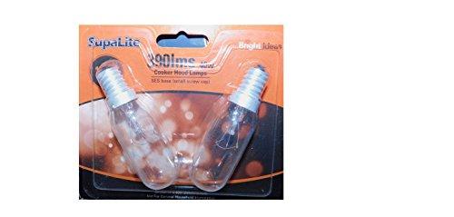 SupaLite - Ampoules pour hotte de cuisinière - 240V - 40W - SES