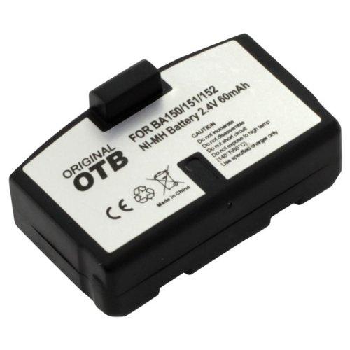 OTB Batterie Ni-MH compatible avec les modèles Sennheiser BA 150, BA 151, BA 152