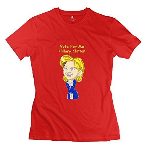 kst-filles-du-monde-hillary-clinton-t-shirt-thme-unique-marron-m