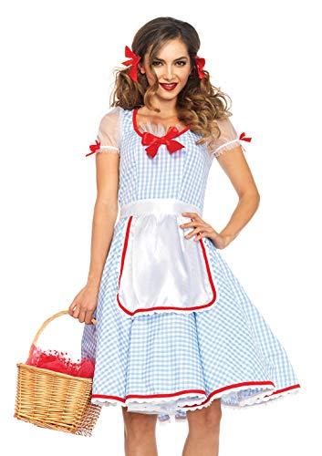 Leg Avenue 85509 - Kansas Sweetie Kostüm, Größe Small (EUR 36) (Sexy Dorothy Kostüm)