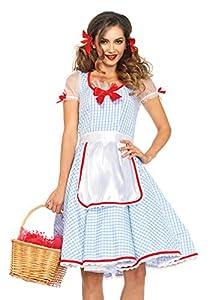 Leg Avenue- Mujer, Color azul, blanco, Large (EUR 42-44) (8550903059)