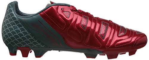 Puma Evopower 4.2 Graphic Fg, Chaussures de football homme Rouge - Rot (high risk red-white-sea pine 01)