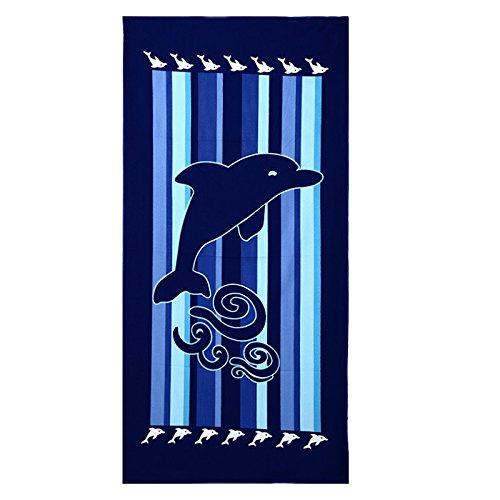 Soft Floral Schal (Lanlan 70x 150cm stylisches Damen 'Strand Reisen Kopftücher Mode Schals Badetuch Decke Fashion Pattern Soft Picknick/Strandmatte)