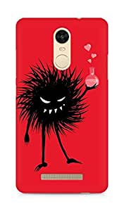 Amez designer printed 3d premium high quality back case cover for Xiaomi Redmi Note 3 (Monster Tree)