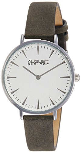 41BB9s7GRVL - August Steiner Mens AS8187GY watch