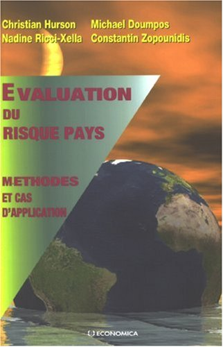 Evaluation du risque pays : Mthodes et cas d'application
