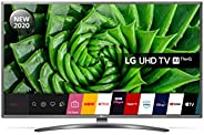 LG 75UN81006LB 75 Inch UHD 4K HDR Smart LED TV with Freeview HD/Freesat HD - Light Grey Pearl colour (2020 Mod