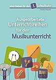 Mini-Reihen für das 1. Schuljahr - Ausgearbeitete Unterrichtsreihen für den Musikunterricht: mit Audio CD