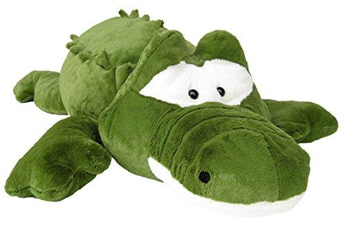 Wagner 6024 - Riesen XXL Plüschtier Krokodil Alligator - 180 cm Gross Plüschkrokodil Stoffkrokodil Krokodil Alligator