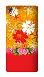 SWAG my CASE PRINTED BACK COVER FOR SONY XPERIA T3 Multicolor