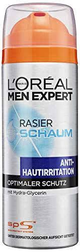 Rasierschaum Hydra Energy Anti-Hautirritation / Rasier-Schaum Antie-Stoppel-Effekt / Schaum mit pflegender Wirkung (dermatologisch getestet, ohne Alkohol) 1 x 200 ml ()