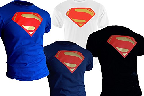 Superman man of steel blu medium