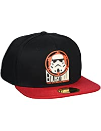 Star Wars Galactic Empire Stormtrooper Casquette Snapback noir/rouge