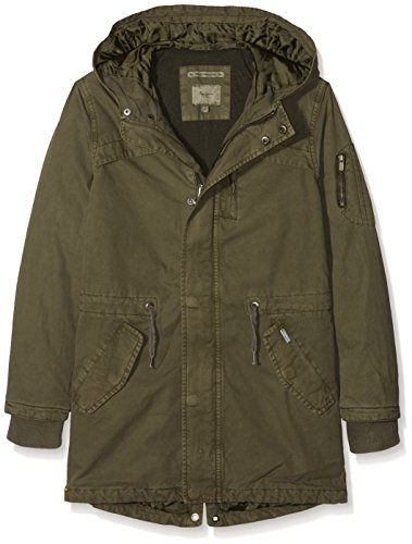 Pepe Jeans Jungen Mantel Logan Teen, Grün (Hunter Green), X-Small