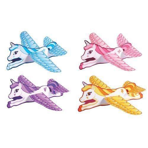 Henbrandt Einhorn-Gleiter, ideal für Kinder/Mädchen, 12 Stück, verschiedene Farben