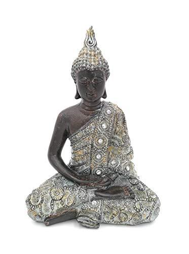G.W. Figura de Buda meditando Sentado