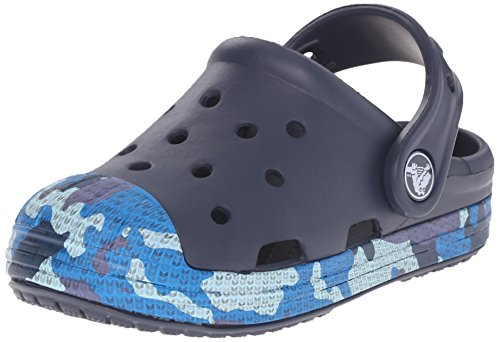 crocs Boy's Bump It Camo Clogs