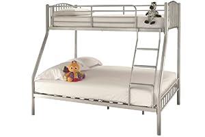 Serene Oslo Three Sleeper Bunk Bed Frame No Drawer