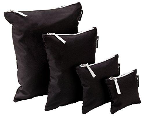 alpamayo Travel organizer, borse organizzatrici, set di quattro borse di dimensioni diversi per più ordine nello zaino o nella valigia.