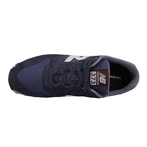 New Balance ML373 D, Baskets mode homme bleu (Navy/Red)