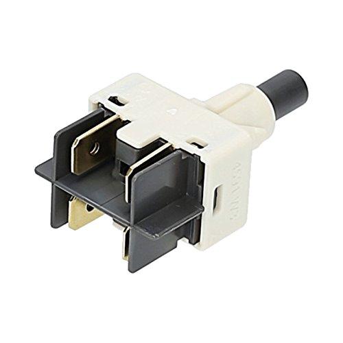 ✧WESSPER® Tastenschalter / Hauptschalter, Schalter 1-fach EIN / AUS Spülmaschine, Geschirrspüler für Hansa ZIA 6428 H (78079)