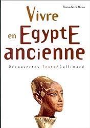 Vivre en Egypte ancienne