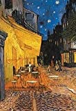 1art1, 32466, Poster, motivo: Vincent Van Gogh - Terrazza del caffè la sera, 91 x 61 cm