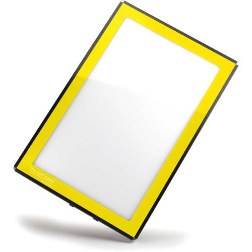 Porta-Trace LED Light Panel, Yellow Frame, 11-by-18-Inch by Gagne Gagne Porta-trace Led