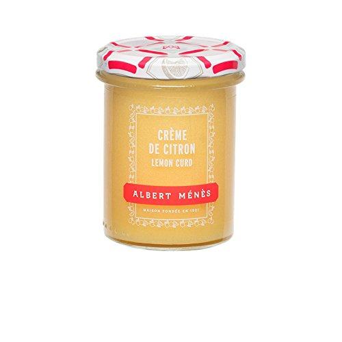 Albert Ménès Crème de Citron - Lemon Curd 240 g - Lot de 3